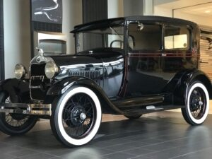 1931 Model A Tudor Sedan in Black